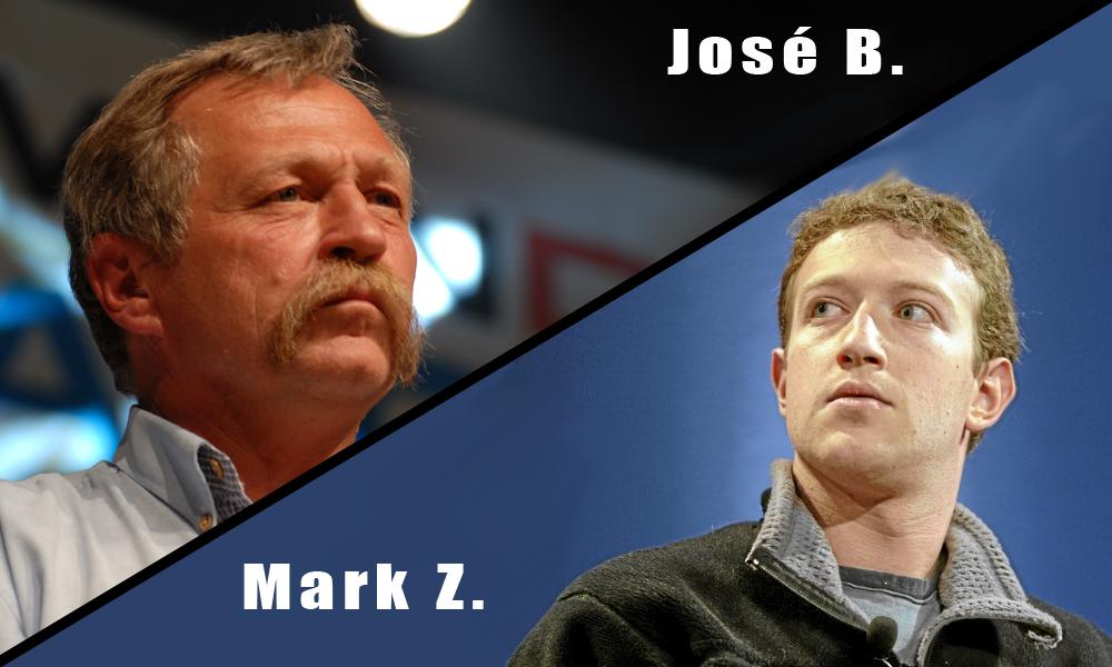 José contre Mark, le match !