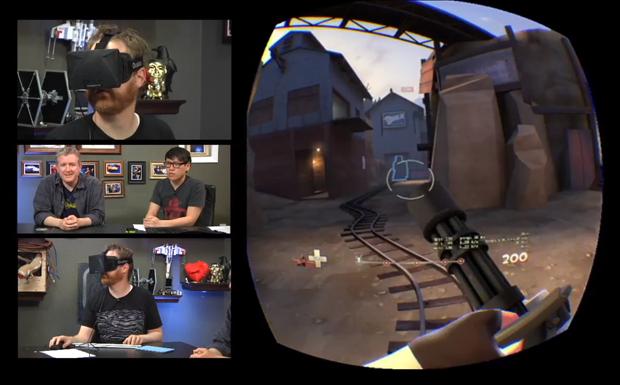 Team Fortress Réalité virtuelle