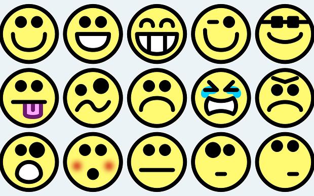 Une Emoticone Est Nee Toile De Fond
