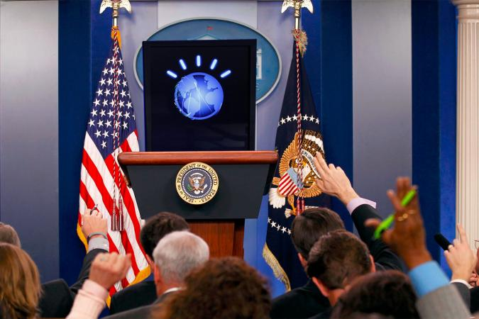 IA président Etats-Unis