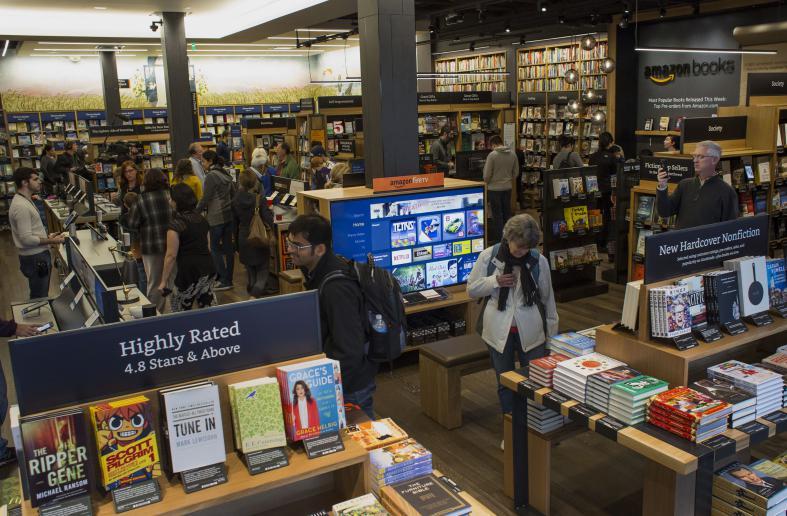 Amazon books intérieur