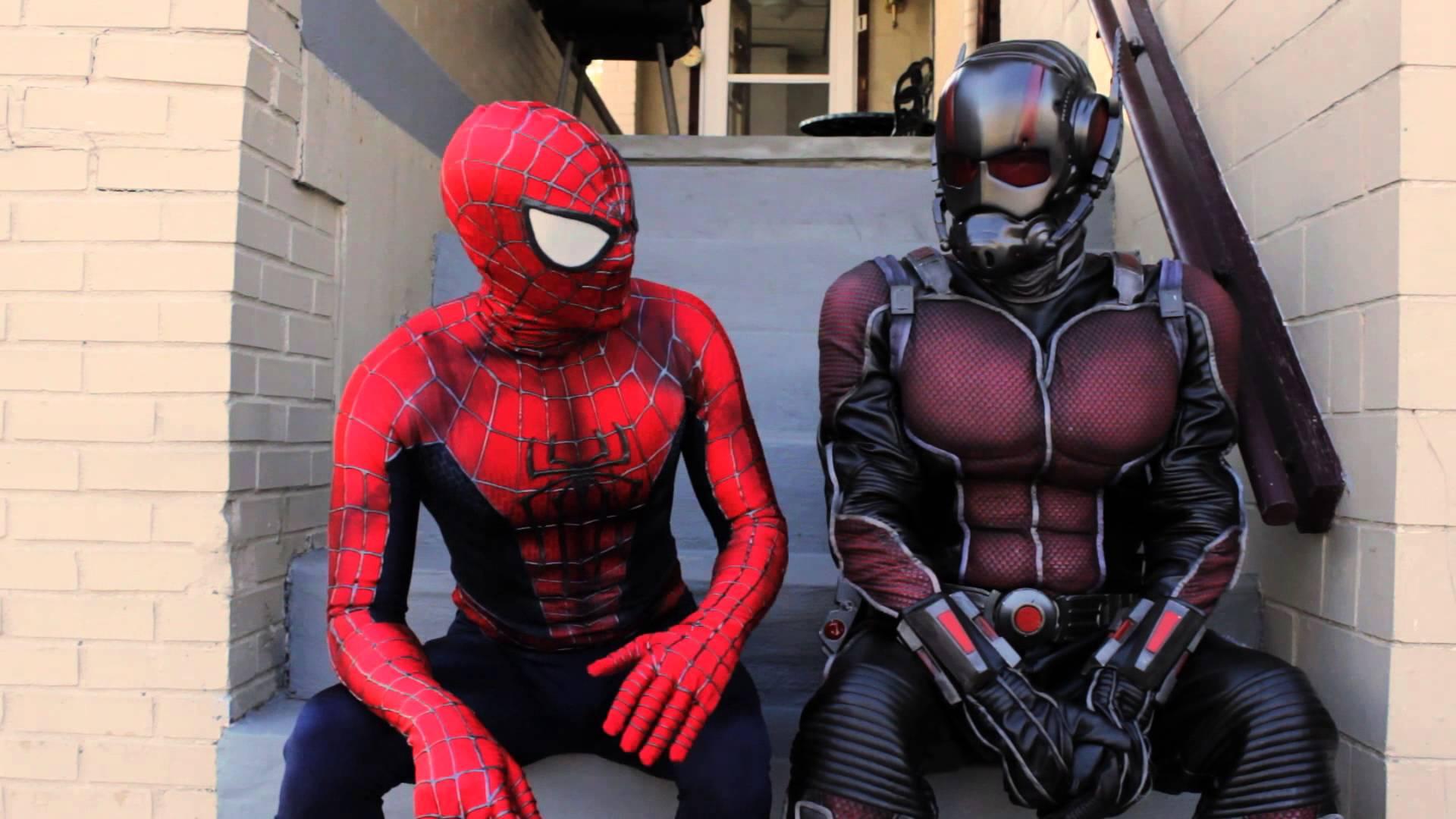 Certaines capacités de Spider-man et Ant-man bientôt égalées