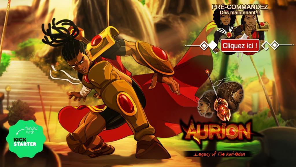 Aurion un des premiers jeux numériques africains