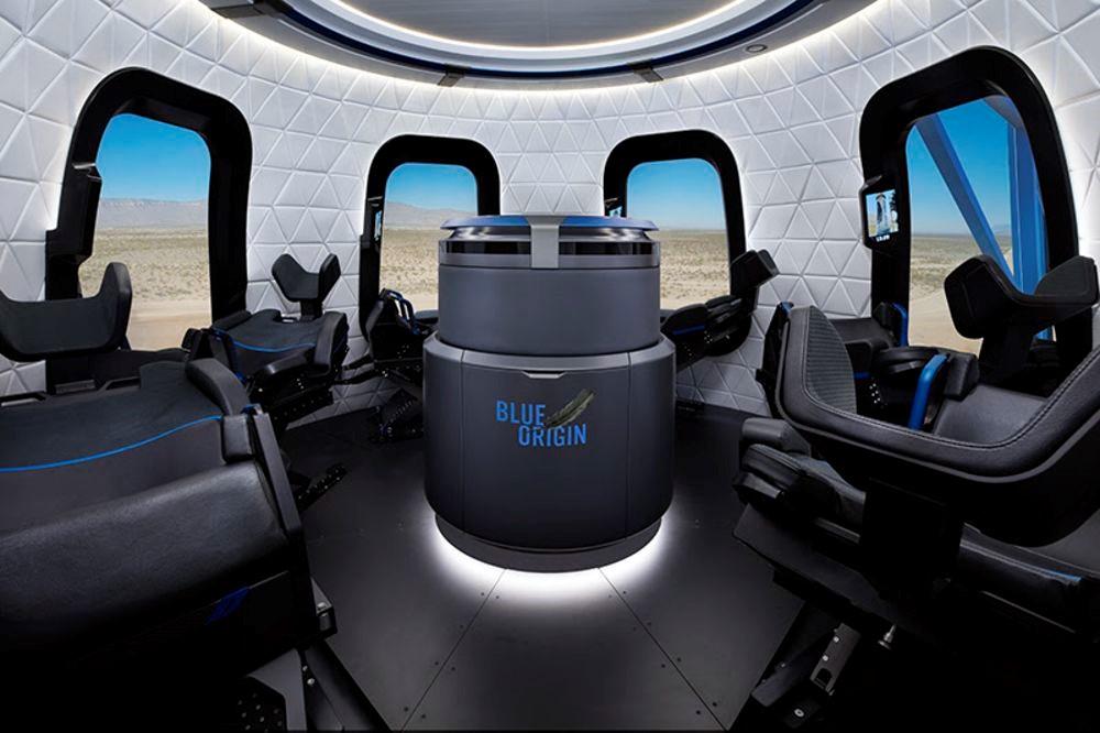 Interieur crew capsule 2.0 tourisme spatial