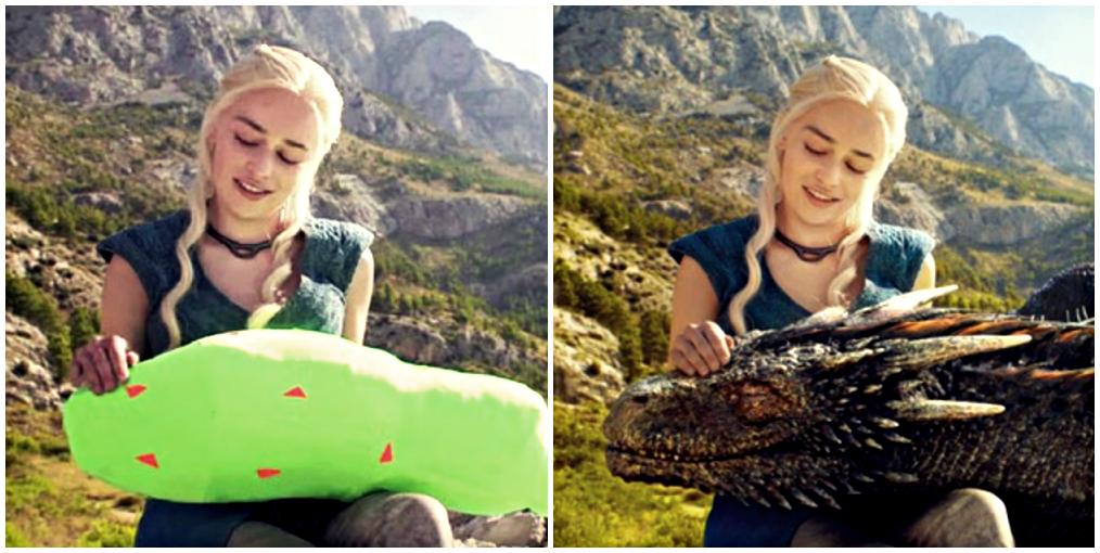 Effets spéciaux : création du dragon de GoT