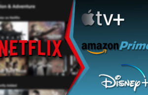 Affrontement netflix apple amazon disney