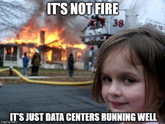 meme data centers fire